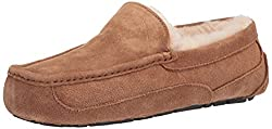 Men's Ascot Ugg Slippers for Men. These make a great gift for any guy who loves to be comfortable at home. Father's Day Gift/Valentine's Day.