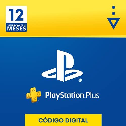Sony, PlayStation Plus - Suscripción 12 Meses   PS5/PS4/PS3   Código de descarga PSN -...