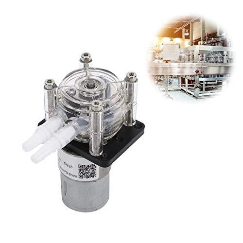 【𝐒𝐞𝐦𝐚𝐧𝐚 𝐒𝐚𝐧𝐭𝐚】 Bomba peristáltica de líquido, bomba peristáltica de gran flujo, bomba dosificadora de dosificación de alta calidad para laboratorio analítico de acuario, 500 ml/min(12V)