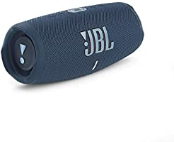 JBL Charge 5 – Altavoz inalámbrico portátil con Bluetooth y batería integrada, resistente al agua (IP67), con PartyBoost...