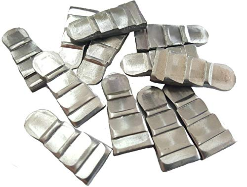 Corrugated Steel Wedges For Hammer Handles - USA MADE (12 Count, 15/32