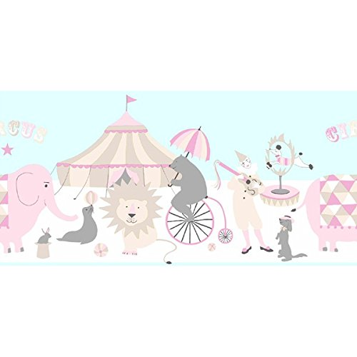 Kinderkamer Everybody Bonjour boord circus 5 meter 5,00 x 0,265