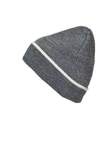 Myrtle beach Elegant Knitted Beanie in navy/white Taille: Taille unique
