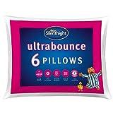 <span class='highlight'><span class='highlight'>Silentnight</span></span> Ultrabounce Pillow, White, Pack of 6