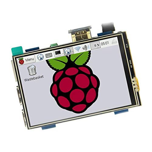 yotijar Módulo de Monitor de Pantalla Táctil HDMI de Plástico 3