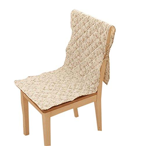 Blancho Slipcovers Coussin de Chaise Coussin de Chaise Monobloc Couverture de Chaise