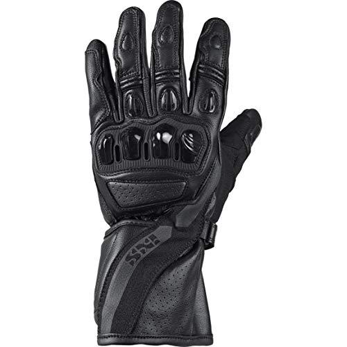 IXS Motorradhandschuhe lang Motorrad Handschuh Novara 3.0 Sport LD Handschuh schwarz XL, Herren, Sportler, Ganzjährig, Leder