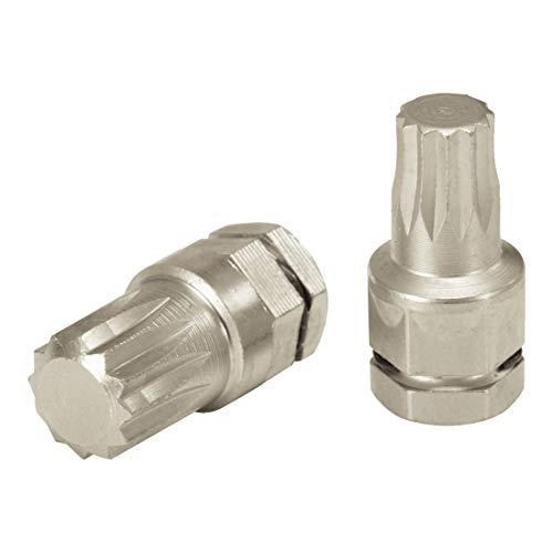 KS Tools 503.8152 - Micro Embout de Vissage avec Joint Torique, XZN 5 mm pour coffret 503.8272 - En Acier Spécial Nickelé