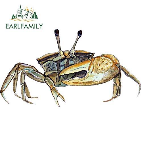13 cm x 6,9 cm Fiddler Crab Calling SALZWASSER Auto Boat RV Fenster Glas KÖRPER Aufkleber Aufkleber Art Autoaufkleber Grafik