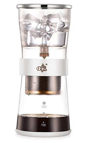 Diguo Cold Brew Coffee Dripper Adjustable Ice Drip Dripper Glass Carafe Duth coffee maker