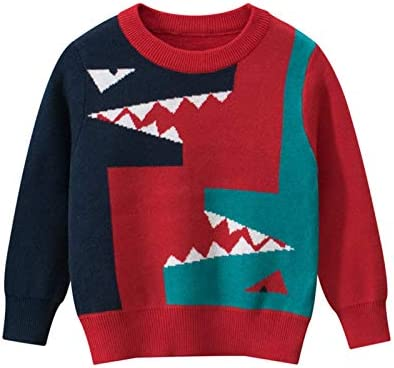 MoccyBabeLee Baby Girls Boys Knitwear Long Sleeved Knitted Sweater Pullover Tops Shirts Autumn Winter Warm Clothes