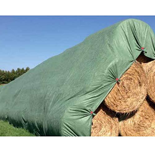 KLASEBO Strohvlies Schutzvlies Strohballenschutz Heuvlies Kompostvlies (9,8x12,5m)