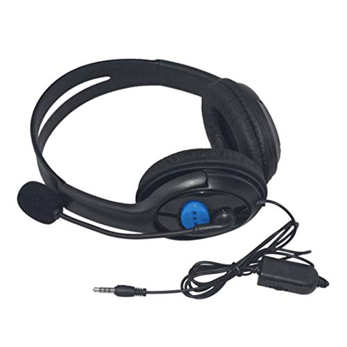 Dynamovolition Wired Gaming Headsets 40-mm-Treiber-Bass-Stereo-Kopfhörer mit Mikrofonrauschisolierung für Sony PS3 PS4-Laptop-PC-Gamer-Kopfhörer
