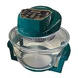 MFXI Freidora de Aire, Temperatura de Control Digital y Temporizador de 30 Minutos, lavavajillas removible Safe Safe SART Pan...