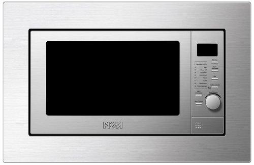 PKM mw800.8–20 G de Eb micro-ondes encastrable/800 W/20 L/grill/Argent