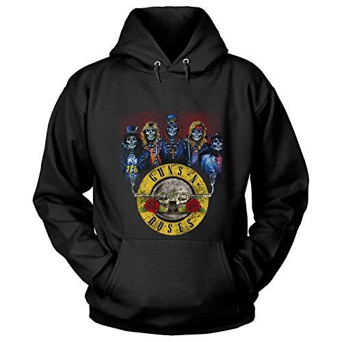 YYQLZWB Guns N & rsquo; Camiseta de la Camiseta de los Miembros...