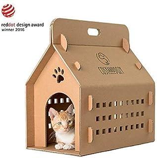 Cartón rascador para gatos, caja de cartón ondulada, para gatos