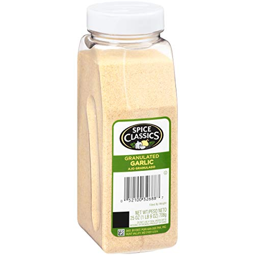 Spice Classics Granulated Garlic, 25 oz