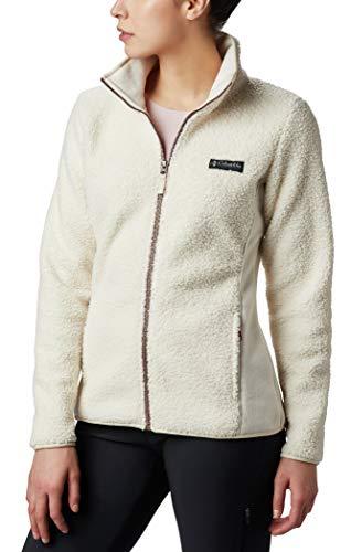 Columbia Damen Panorama Fleece-jacke mit Durchgehendem Reißverschluss, Beige (Chalk), M