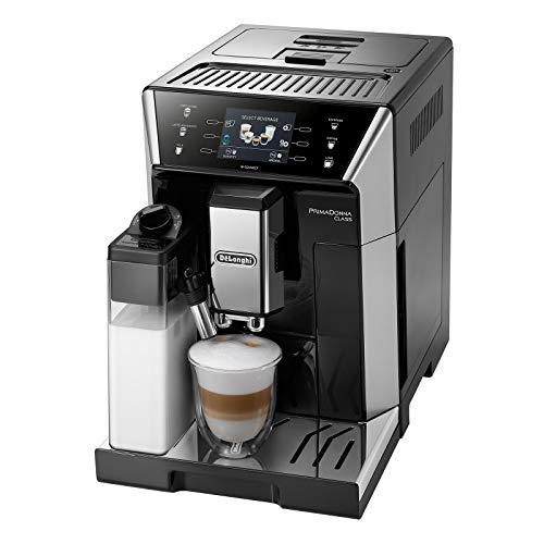 De'Longhi ECAM 556.55.SB Cafetera automática, 1450 W, 2 Cups, Negro