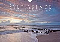 Sylt-Abende - Fotografien von Beate Zoellner (Wandkalender 2022 DIN A4 quer): Stimmungsvolle Fotos der Insel Sylt (Monatskalender, 14 Seiten )