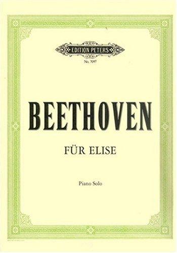 Fuer Elise. Klavier