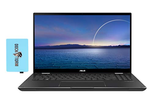 ASUS Zenbook Flip 15 Home and Business Laptop 2-in-1 (Intel i7-1165G7 4-Core, 16GB RAM, 512GB SSD + 32GB Optane, GTX 1650 [Max-Q], 15.6' Touch Full HD (1920x1080), WiFi, Win 10 Home) with Hub