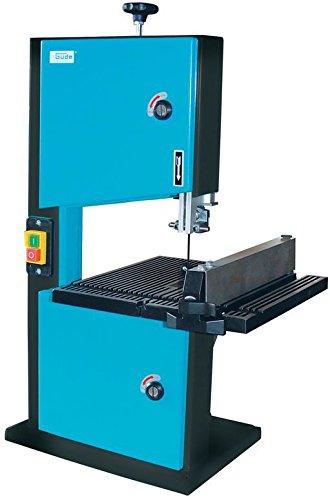 Güde 83810 Bandsäge GBS 200 (45° schwenkbar, Tisch aus Aluminium, Anschluss für Absauganlage, 230V, 50Hz)