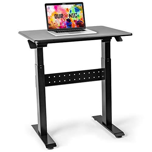 Duronic TM04F Mesa Escritorio con Altura Ajustable 72-114cm para Trabajar de pie o Sentado –...