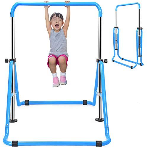 Zupapa鉄棒 体操 子供逆上がり 室内 折りたたみ式 てつぼう 運動 逆上がり 練習 健康器具 ダイエット器具 耐荷重(約)100kg