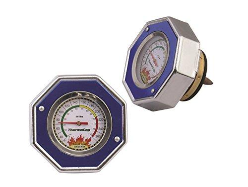 Mr. Gasket - 2471B Domestic Thermocap 16 Psi-Blue