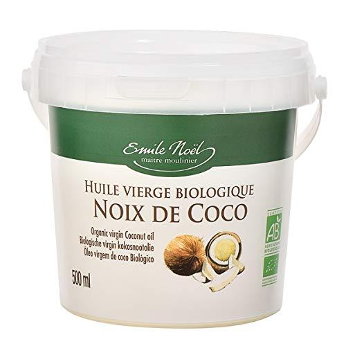 Emile Noel - Huile de coco vierge 50cl - Lot De Lot De 3 - Vendu Par Lot - Livraison Gratuite En France