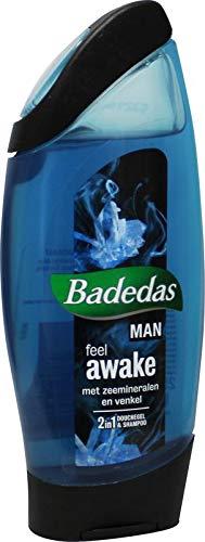 Badedas Douchegel Men 2 in 1 Feel Awake, 250ml