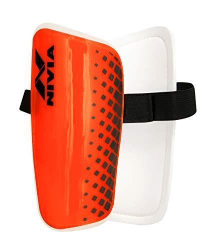 Nivia Club SHINGUARD Football Shin Guard (Orange)
