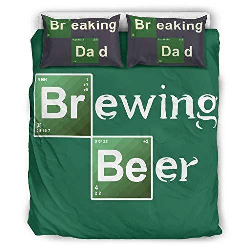 Atag Brouwen bier kleurrijke beddengoed Cover Set voor Beding Room