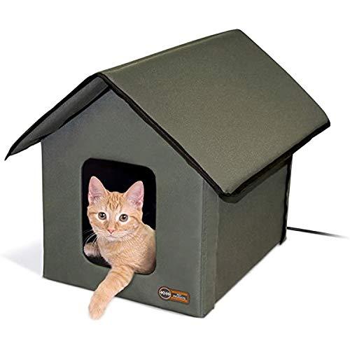 Best heated indoor cat house