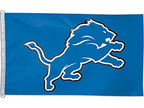 NFL Detroit Lions WCR62320011 Team Flag, 3' x 5'