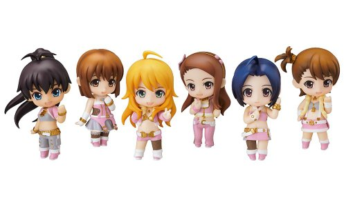 THE IDOLM@STER Stage 02 Nendoroid Petite Trading figurines (Display of 8)