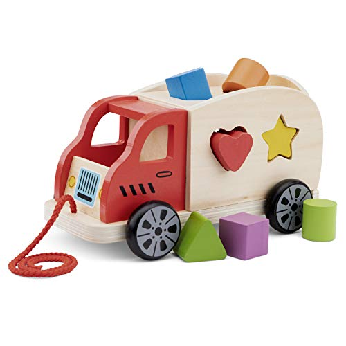 New Classic Toys Camion à Formes Jeu Éducatif pour Enfants