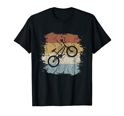 Old School BMX Fahrrad | Retro Style Dirtbike Cross-Rad T-Shirt