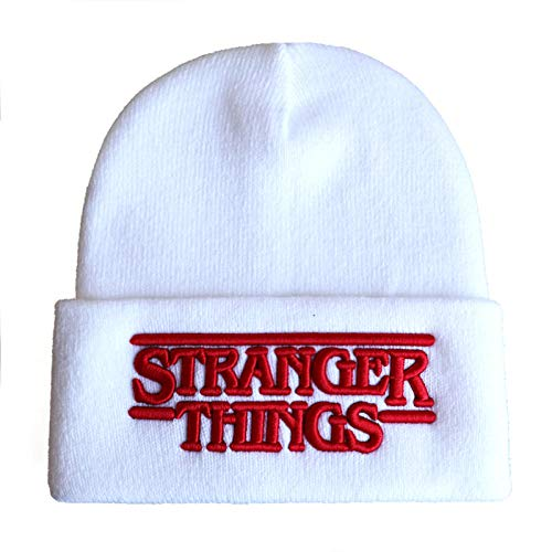 BOOUEYY Gorro de Invierno Tejido New Stranger Things 3D