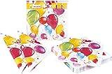 HEKU 30005-222 Einweg-Set mit Tellern, Bechern und Servietten, 120-teilig, Party Ballons - 3