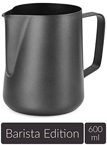 Lambda Coffee® Milchkännchen 600ml aus Edelstahl für Barista ...