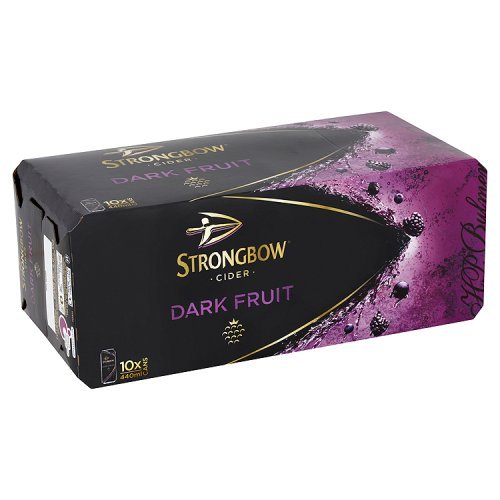 Strongbow Cider Dark Fruit 10x 440ml Alc.4,0% Vol. - Die Nr.1 in England, weinhaltig