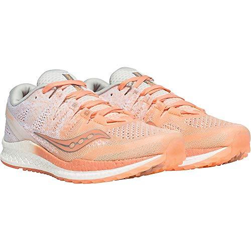 [サッカニー] シューズ 24.0 cm スニーカー Women's Freedom ISO2 Shoe Peach レディース [並行輸入品]