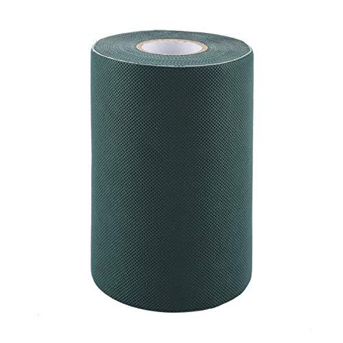 Sollmey Nastro per Erba - Nastro Adesivo per giunzioni autoadesive da 15 x 1000 cm Nastro Verde per Erba Sintetica Cucitura per Tappeto erboso Artificiale