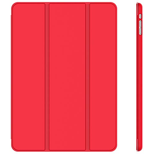 JETech Case for iPad mini 1 2 3 (Not for iPad mini 4), Smart Cover Auto Wake/Sleep, Red
