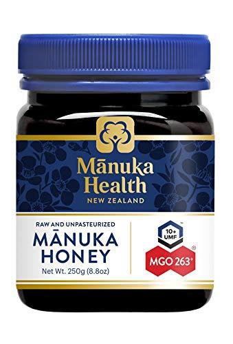 Manuka Health - Manuka Honing MGO 250 + 250 g - 100% puur uit Nieuw-Zeeland met gecertificeerd methylglyoxal-gehalte