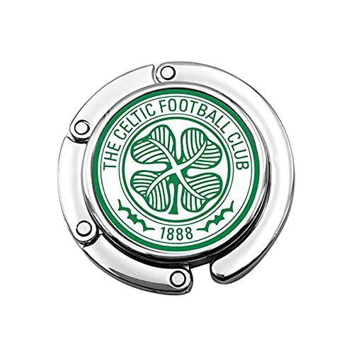 Scotland Premiership Celtic Fc Flag Foldable Purse Hook Handbag Hangers for Table