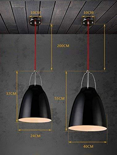 YSH Kronleuchter/Deckenleuchten/Lampe, Kleiner Kronleuchter Neoklassizistisches Design Restaurant Bar Eisenlampen Und Laternen Nordic Bar Single Leader E27 Fashion,24Cm